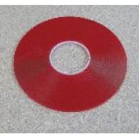 Двусторонний скотч Stokvis 4мм х 33м 1мм прозрачный - рулон